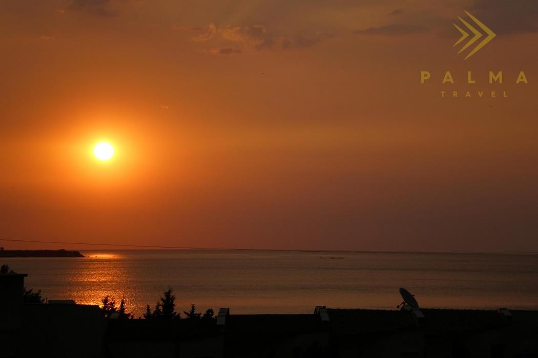 Slunečné Pobřeží - východ slunce