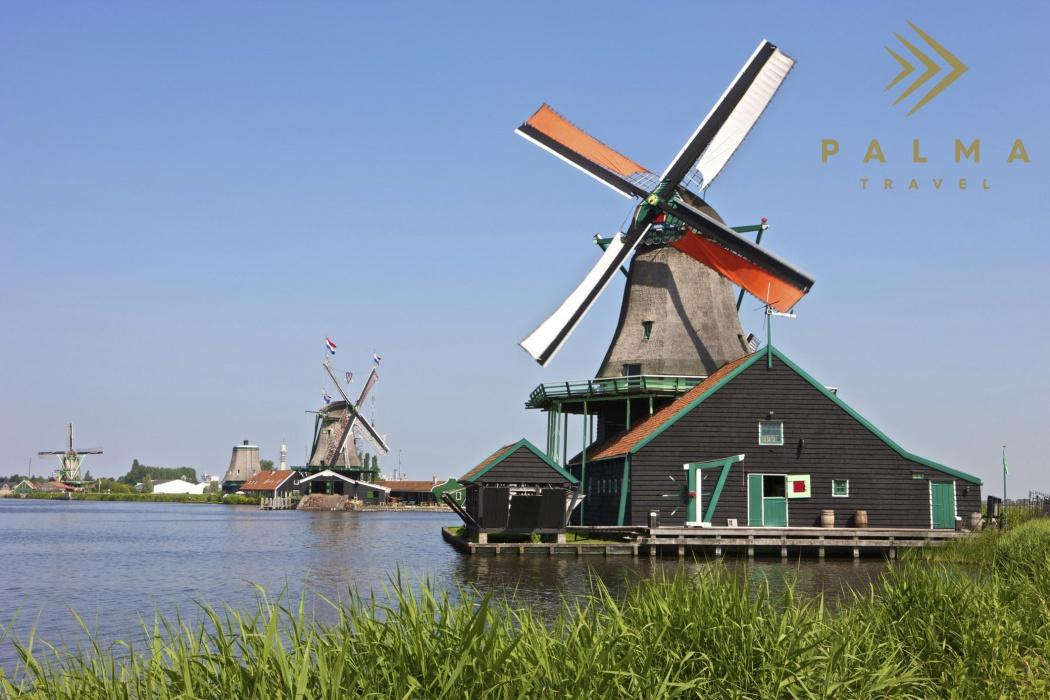 Nizozemí - mlýny