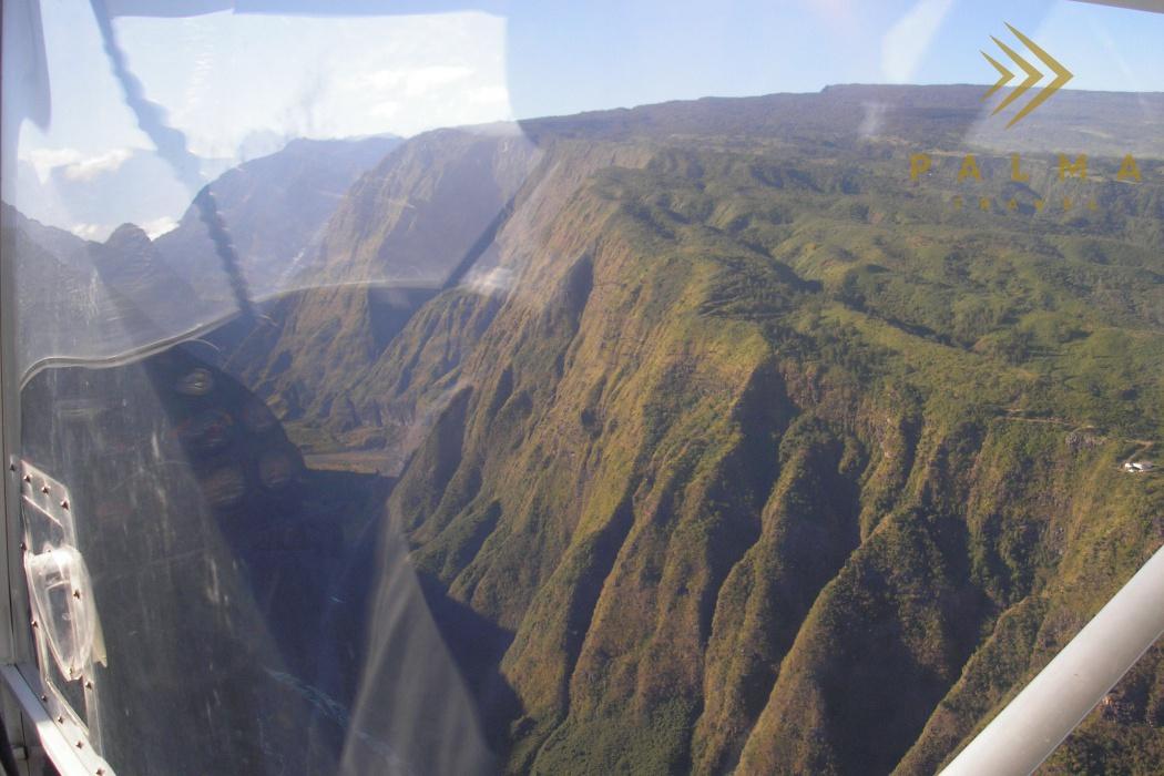 Reunion - výlet ultralightem do vnitrozemí