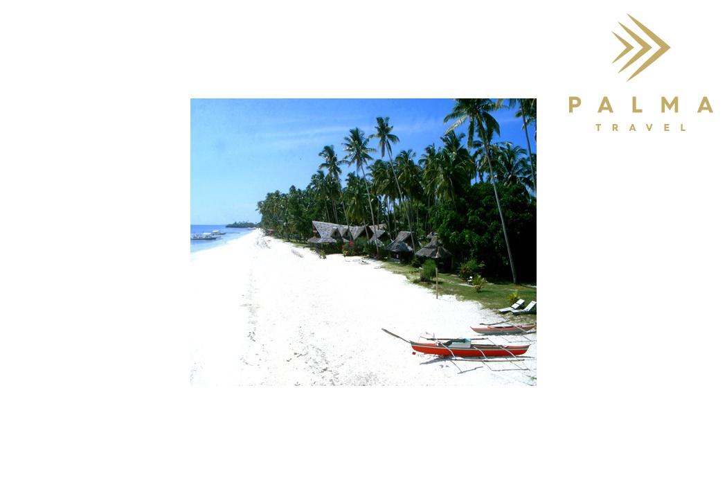 Filipíny pláž na Boholu