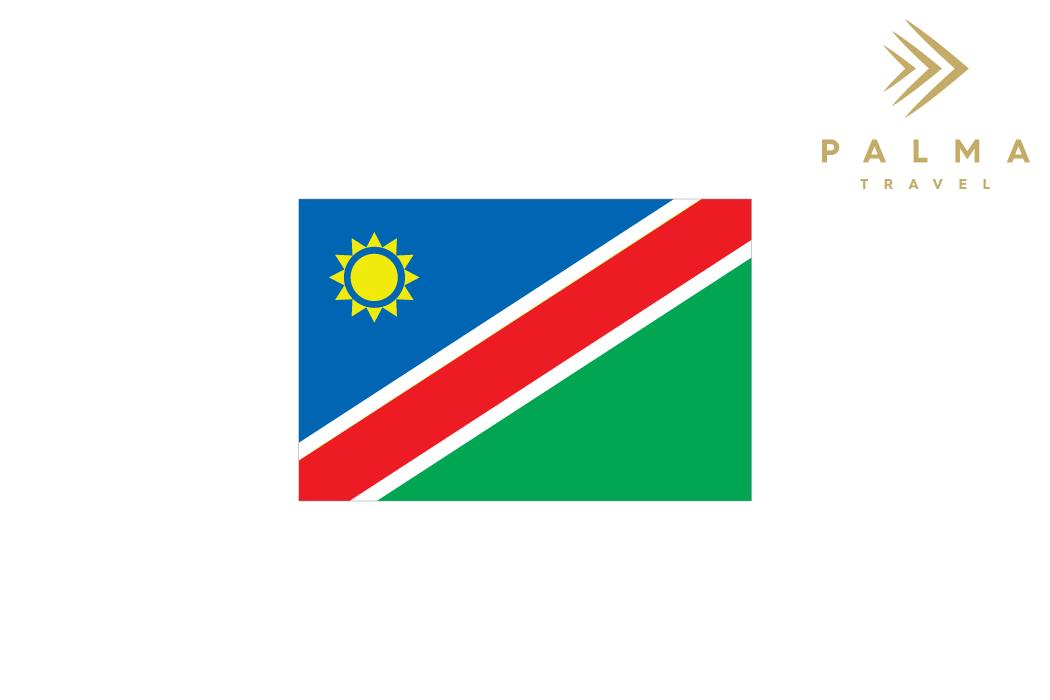 Vlajka Namíbie