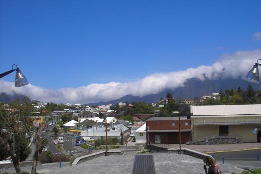 Reunion - horská vesnička