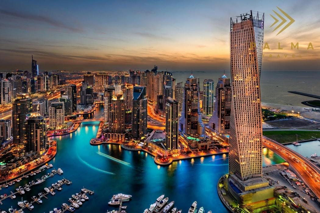 Emiráty - Dubaj - Město