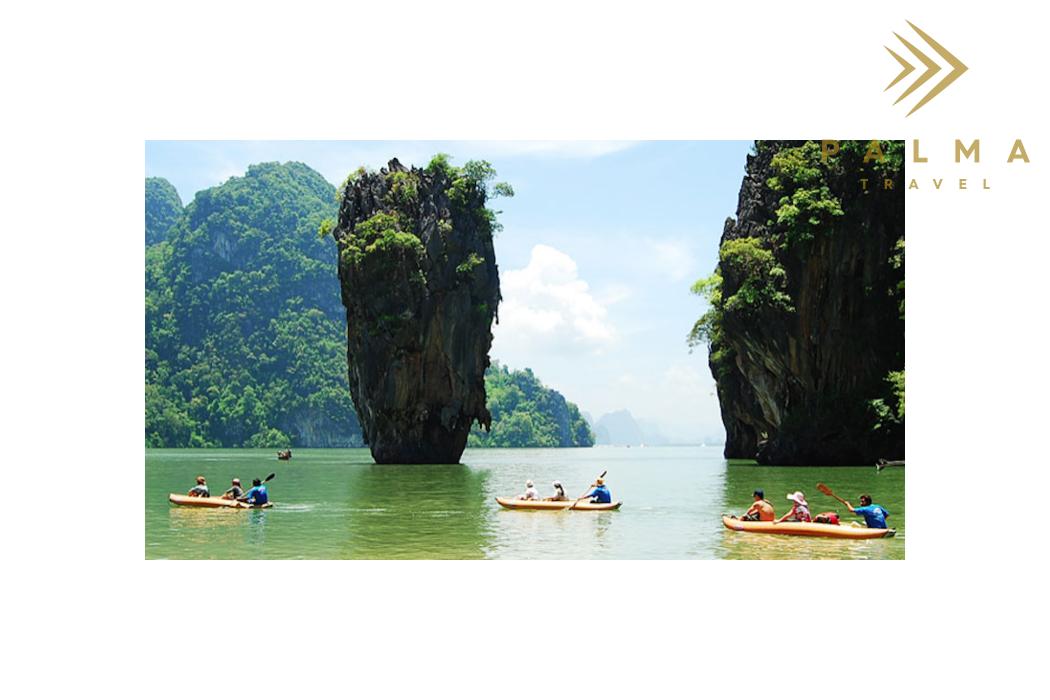 Thajsko - ostrov Coconut Island
