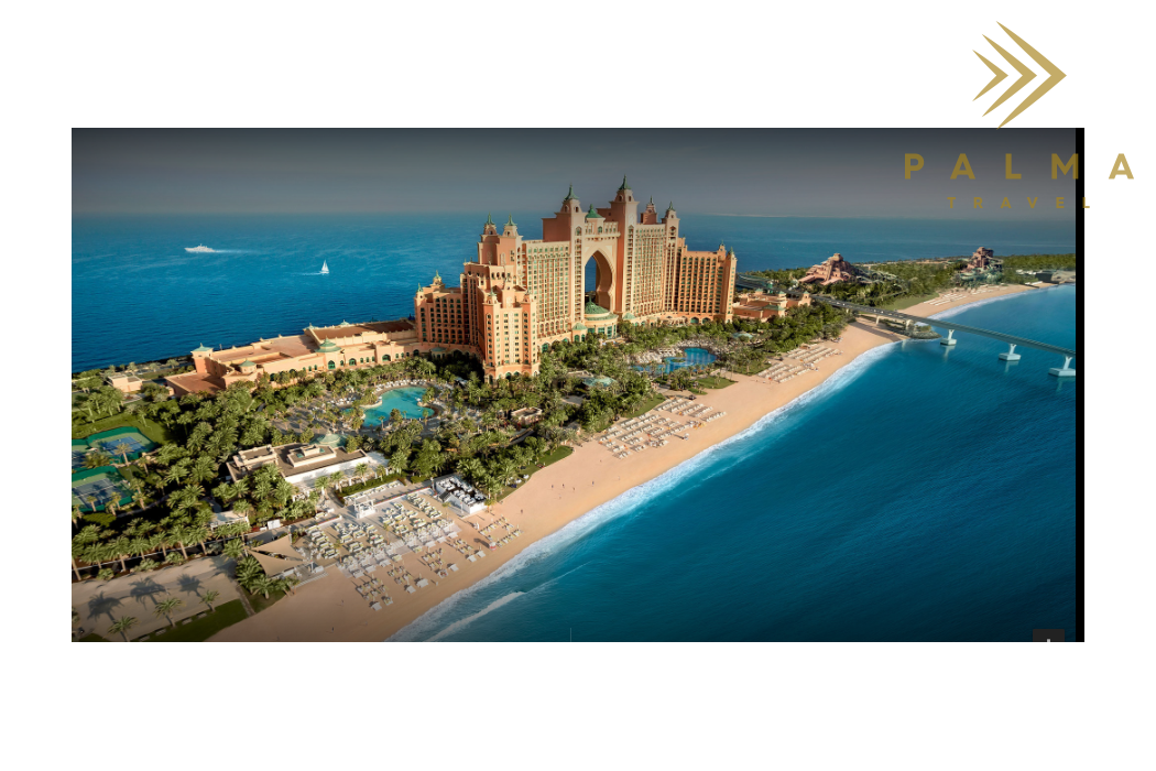Dubai s dětmi - Atlantis The Palm
