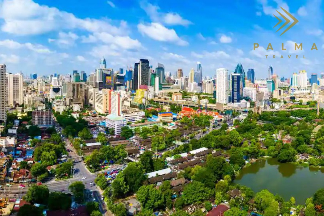 Thajsko - Bangkok hlavní město Thajska