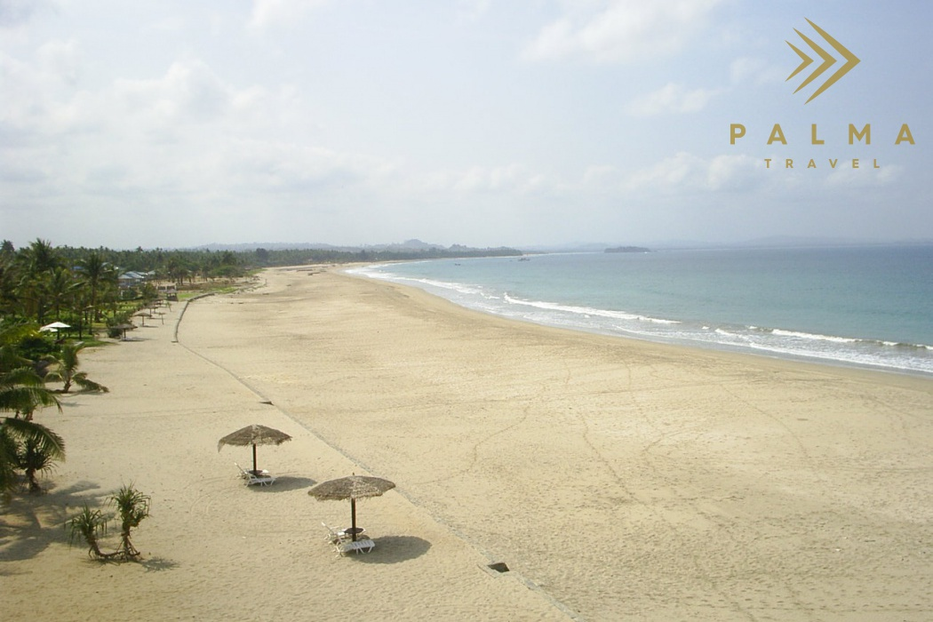 Ngwe Saung pláž
