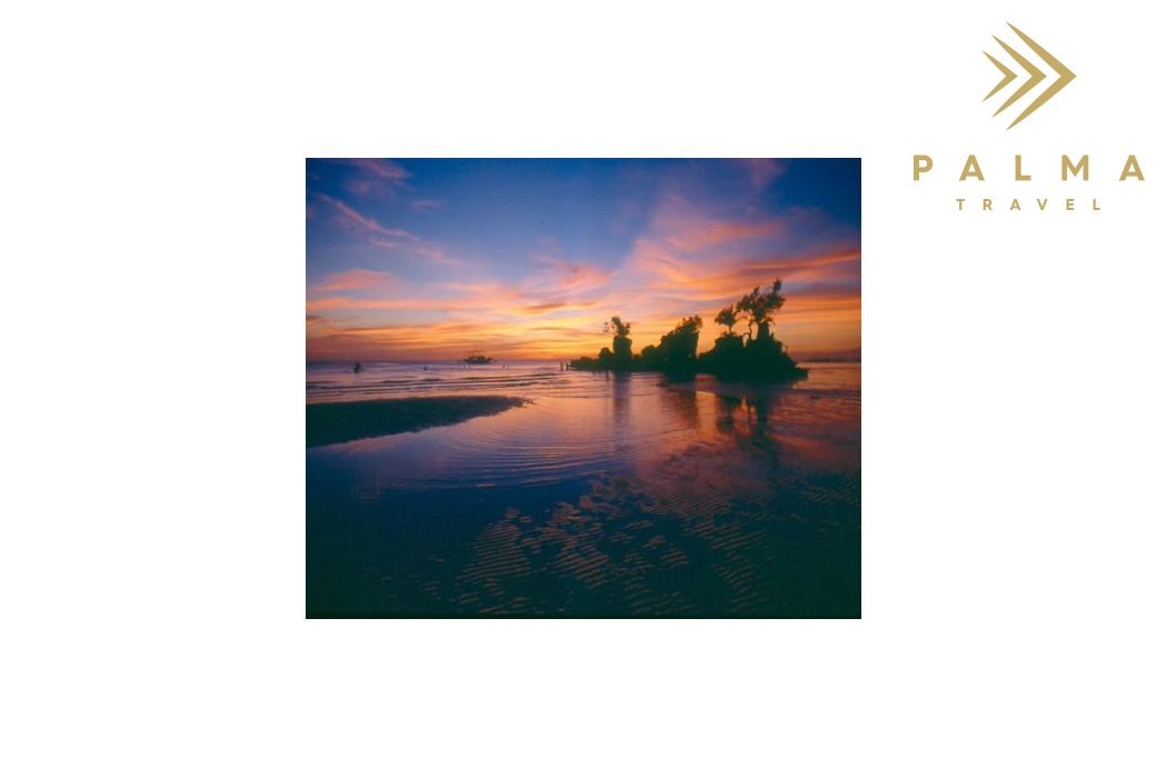 Filipíny - Boracay západ Slunce