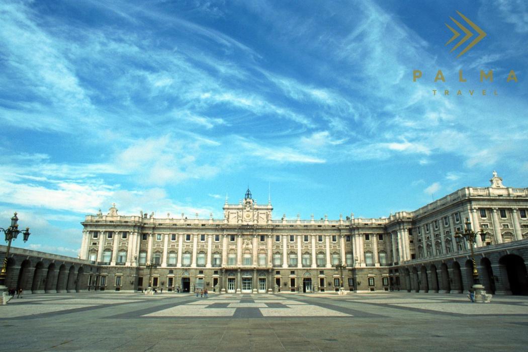 Madrid - Královský palác