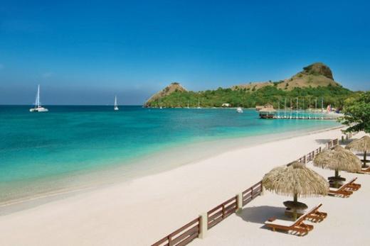 Svatá Lucie - Santa Lucia - Západní pobřeží