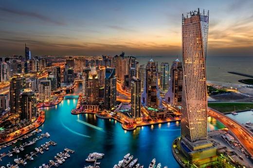 Spojené arabské emiráty - Emiráty - Dubaj - Město