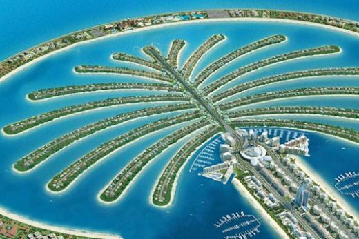 Emiráty - Dubaj - Jumeirah Palm
