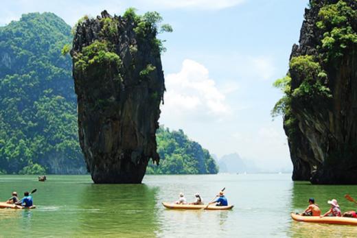 Thajsko - Thajsko - ostrov Coconut Island