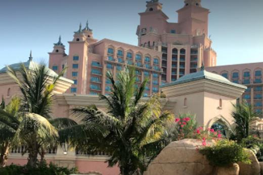Dubai s dětmi - Atlantis The Palm