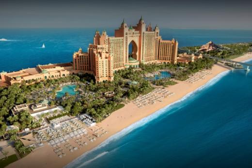 Spojené arabské emiráty - Dubai s dětmi - Atlantis The Palm