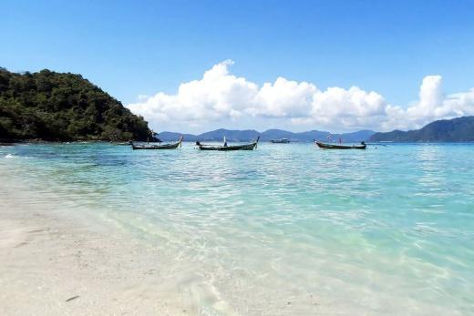 Thajsko - ostrov Coral Island