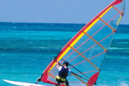 Surfování na Mahé
