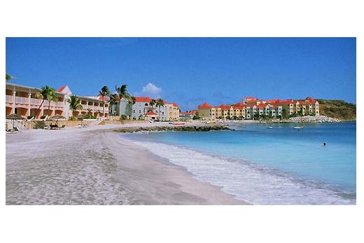 Sint Maarten / Svatý Martin- Holandská část
