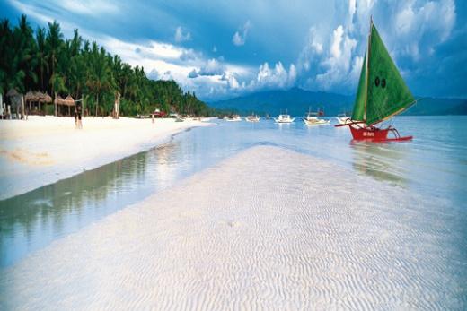 Filipíny - Boracay pláž