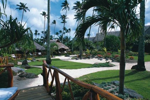 Bora Bora tropická zahrada