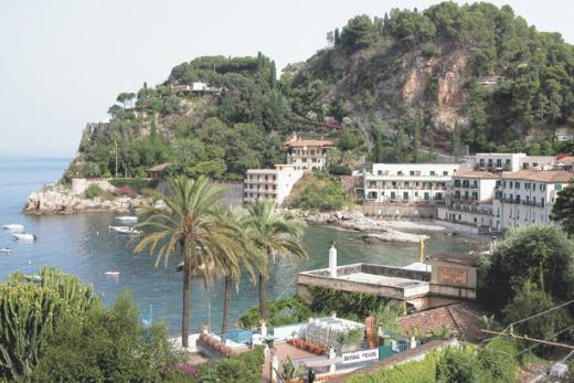 Itálie - SICÍLIE - Letojanni, Taormina a Giardini Naxos