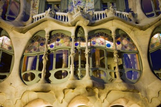 Barcelona - Casa Batllo od Gaudiho