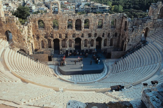 Atény - amfiteátr