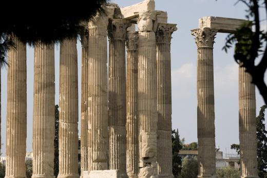 Atény - Olympian Zeus Temple