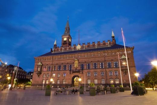 Kodaň - radnice