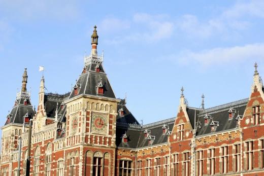 Amsterdam - vlakové nádraží