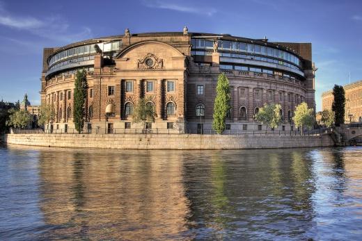 Stockholm - parlament