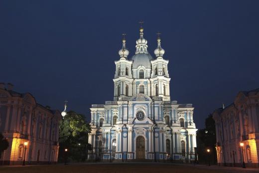Petrohrad - Smolny Monastery