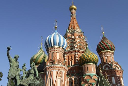 Moskva - Saint Basil\'s cathedral