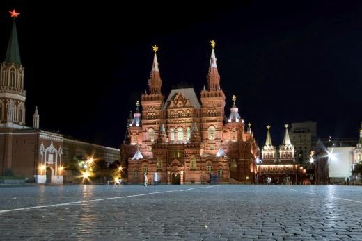 Moskva Rudé Náměstí