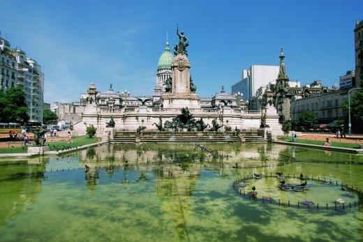 Argentina - Buenos Aires - Plaza del Congreso