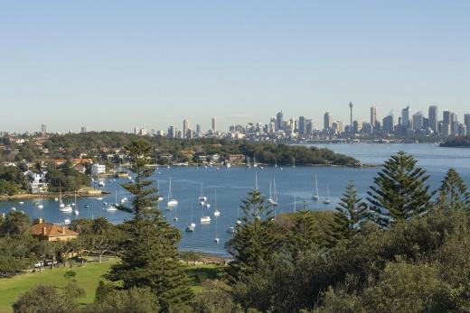 Austrálie Sydney Watson Bay