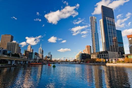 Austrálie Melbourne