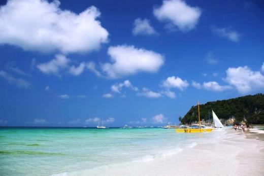 Filipíny Boracay