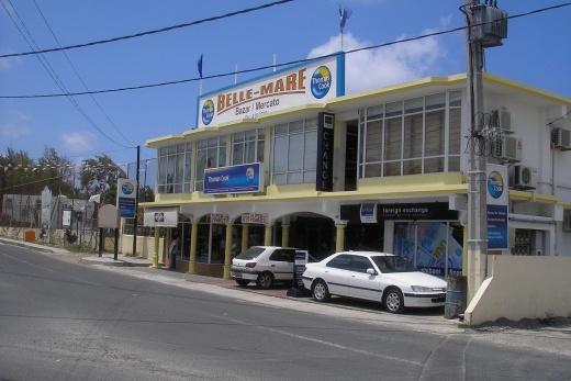 Mauritius - Belle Mare městečko