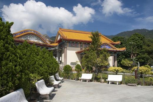 Malajsie Penang klášter Kek Lok Si