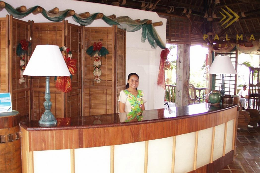 Pangalo Island Resort lobby