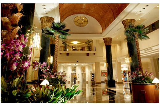 Pan Pacific Hotel pohled