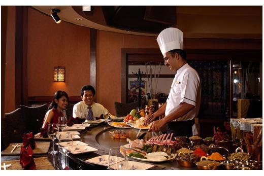 Pan Pacific Hotel Ashoka Restaurant