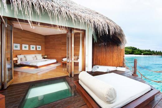 Adaaran Prestige Water Villas  (Meedhupparu - Vodní bungalovy)