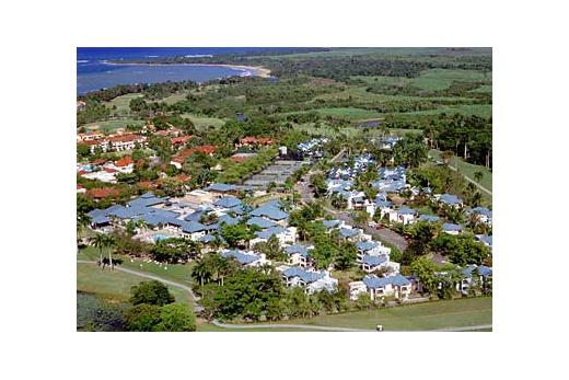 Occidental Caribbean Village Playa Dorada - pohled z letadla