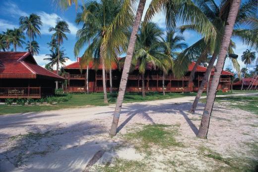 Pelangi Beach Resort bungalovy