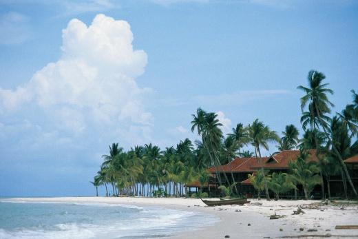Pelangi Beach Resort pláž 3