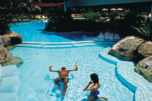 Pelangi Beach Resort bazén 2