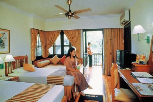 Berjaya Langkawi Beach Resort deluxe bungalov