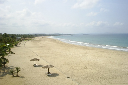 Sunny Paradise Resort pláž